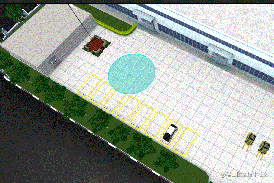 ThingJS官方示例(八):3D多边形区域交互开发之5个注册事件